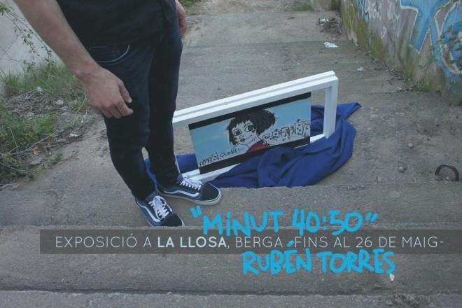 """Exposició """"Minut 40:50"""" @ Restaurant La Llosa (BERGA)"""
