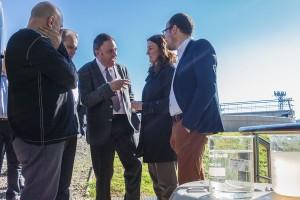 Berga inaugura una depuradora innovadora, de qualitat i adaptada a la normativa vigent