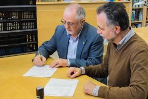 Joan Roma cedeix a l'Arxiu Comarcal milers de documents dels darrers 45 anys