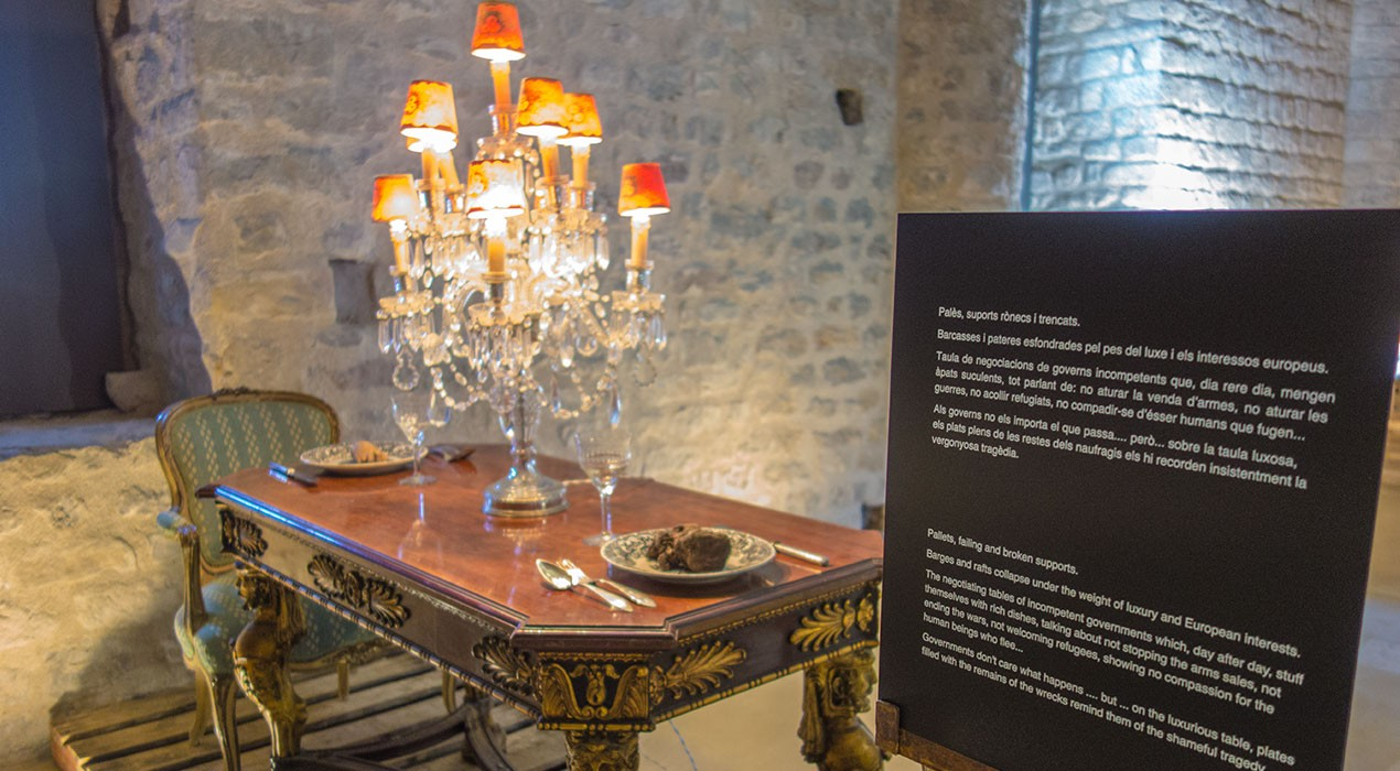 El monestir de Sant Llorenç busca la reflexió en una primavera carregada d'art i espectacles