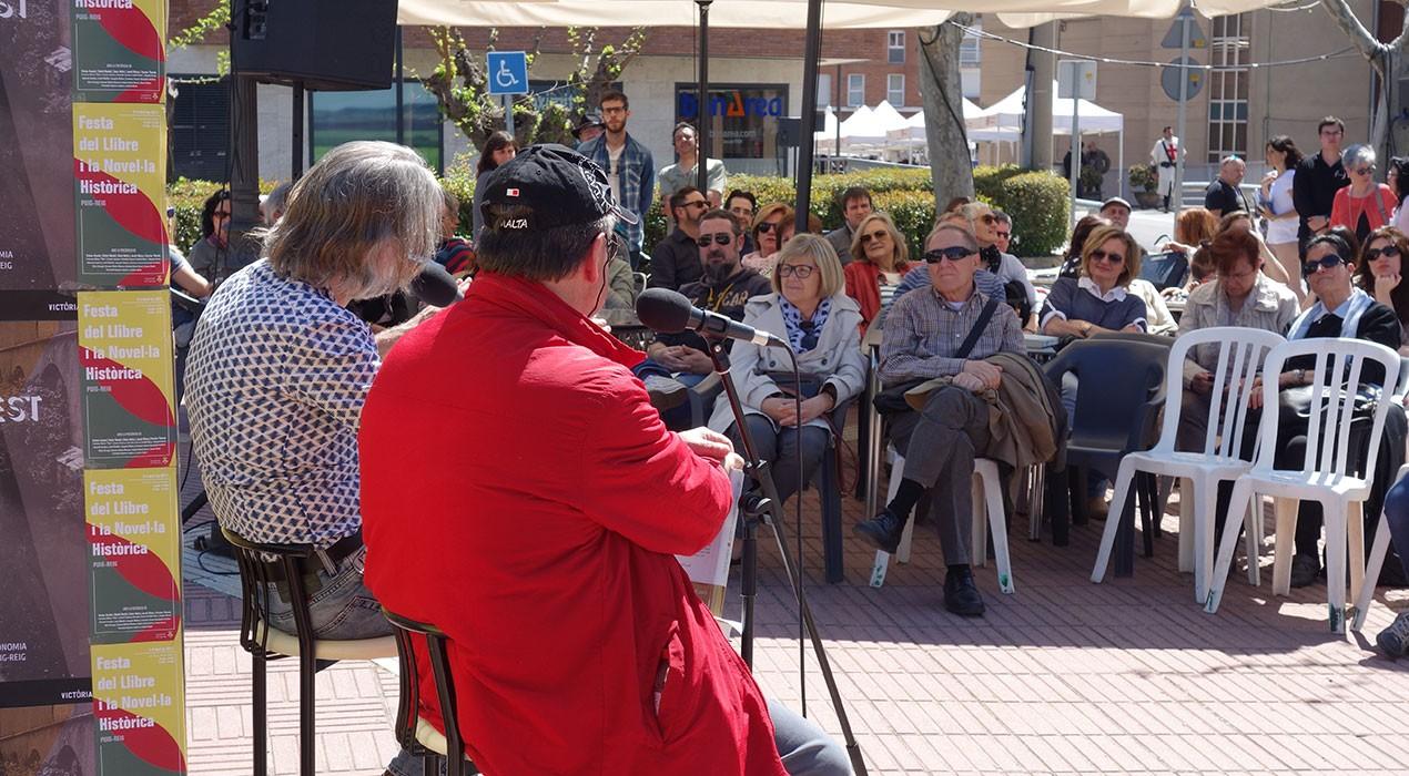 Puig-reig es consagra com el bressol de la novel·la històrica amb la segona edició de la Festa del Llibre