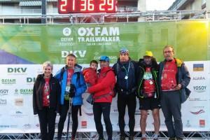 L'equip berguedà de la Trail Walker fa els 100 quilòmetres solidaris en menys de 22 hores