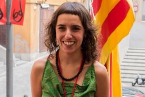 Anna Alsina, regidora de la CUP a l'Ajuntament de Berga, plega per motius personals