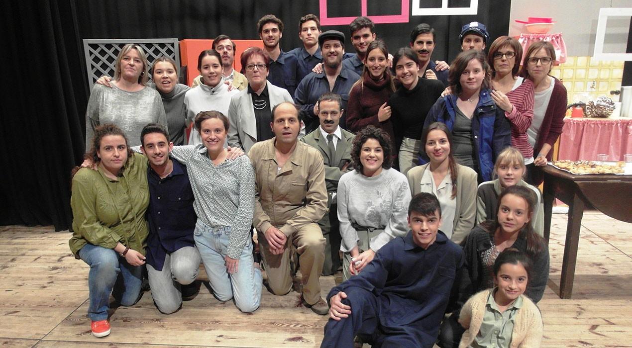 """Nou èxit de la Farsa, que omple la platea del Teatre Municipal amb """"Aquí no paga ni Déu!"""""""