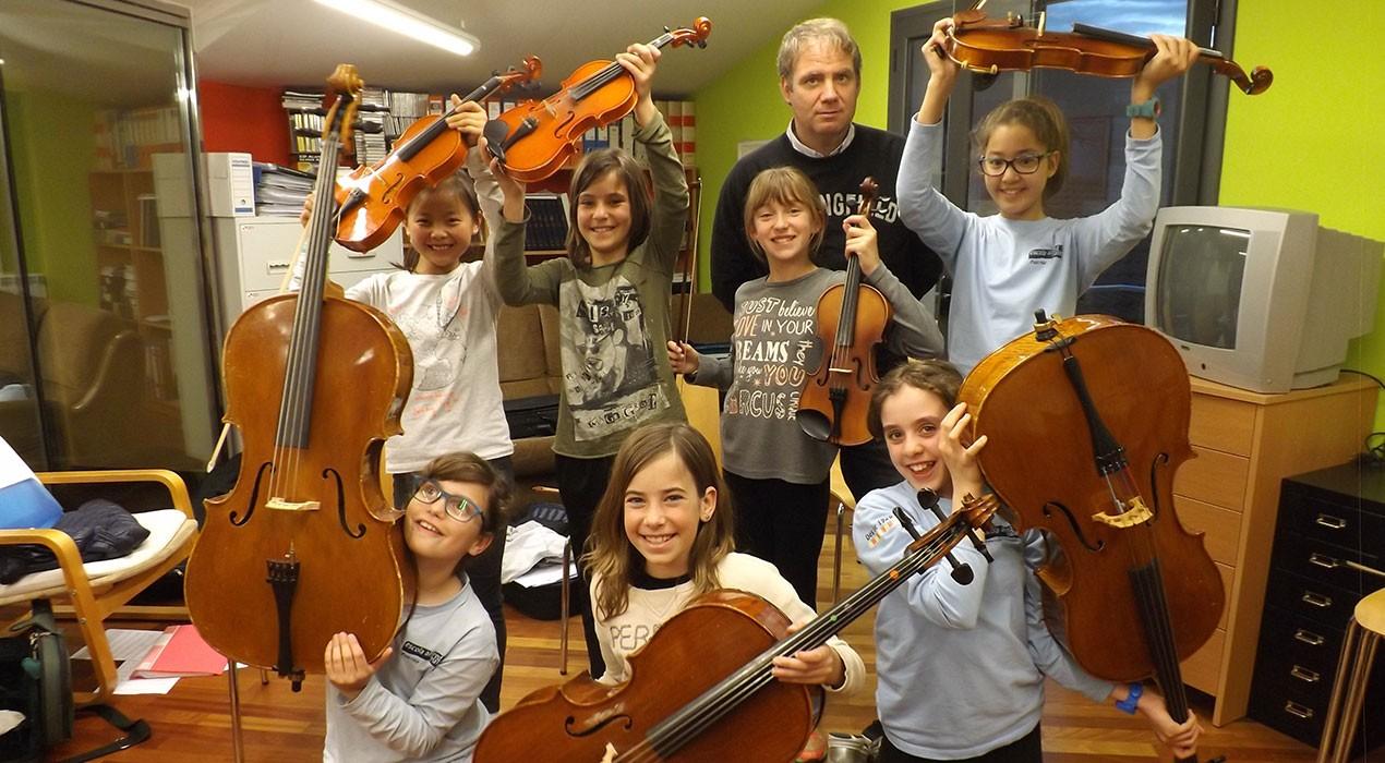 L'escola de música de Puig-reig rep un dels premis Baldiri Reixac