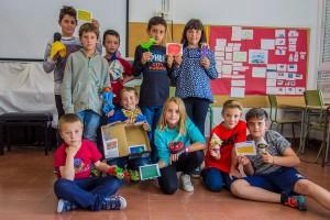 Titelles i codis QR, l'enginyosa idea de l'escola de Montmajor pel mercat de cooperatives