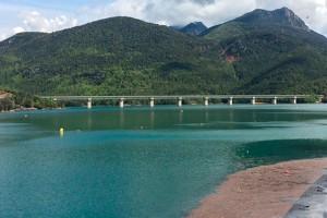 L'ACA impulsa dues millores a la presa de la Baells amb una inversió de 130.000 euros