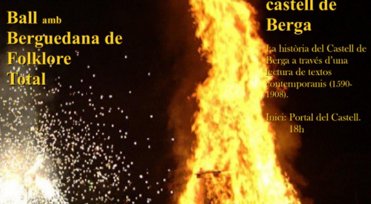 Revetlla folk al castell de Berga