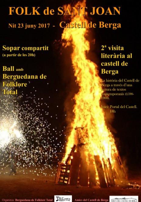 Revetlla folk al castell de Berga @ Castell de Berga