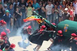 Una Patum extraordinària per celebrar la independència de Catalunya?