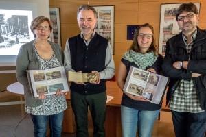Berga digitalitza una col·lecció de 400 postals d'abans de la Guerra Civil fetes per Jaume Huch i Guixer