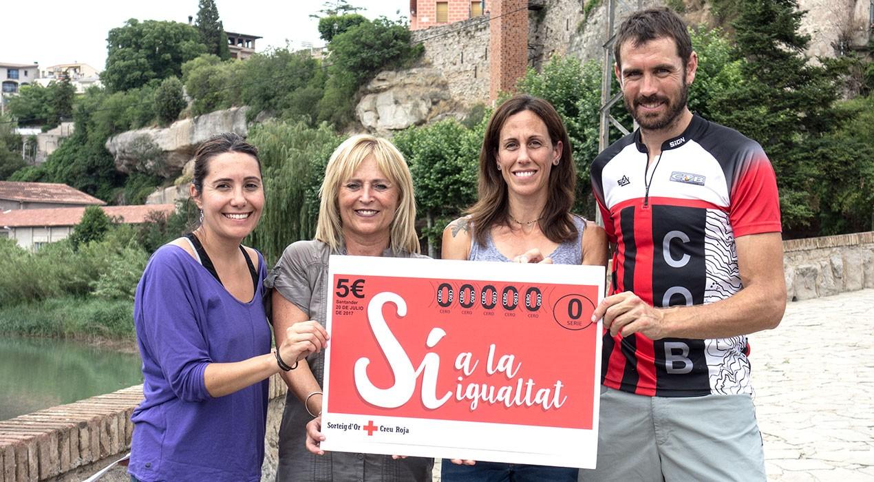 Creu Roja Berguedà busca refermar la vessant altruista de l'esport i llança el seu cinquè Repte Solidari