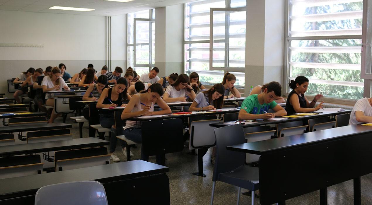 150 alumnes del Berguedà afronten els exàmens de la selectivitat entre aquest dimarts i dijous