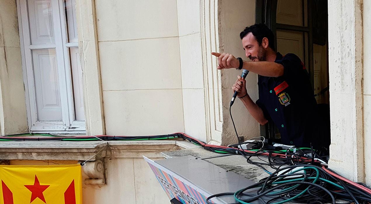 """Sergi Montaner 'Teti': """"No podem permetre que comparin la Patum infantil amb una caseta de venda de petards"""""""
