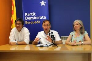 """El PDeCAT de Berga demana """"seriositat institucional"""" a la CUP"""