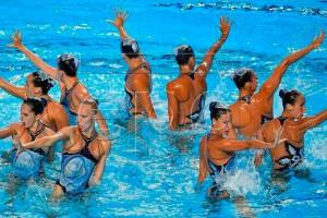 Ariadna Arisó, cinquena al Mundial de Budapest amb la selecció absoluta de natació sincronitzada