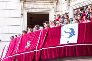 La CUP vol organitzar el balcó de l'Ajuntament per Patum per tal d'obrir les places buides als ciutadans