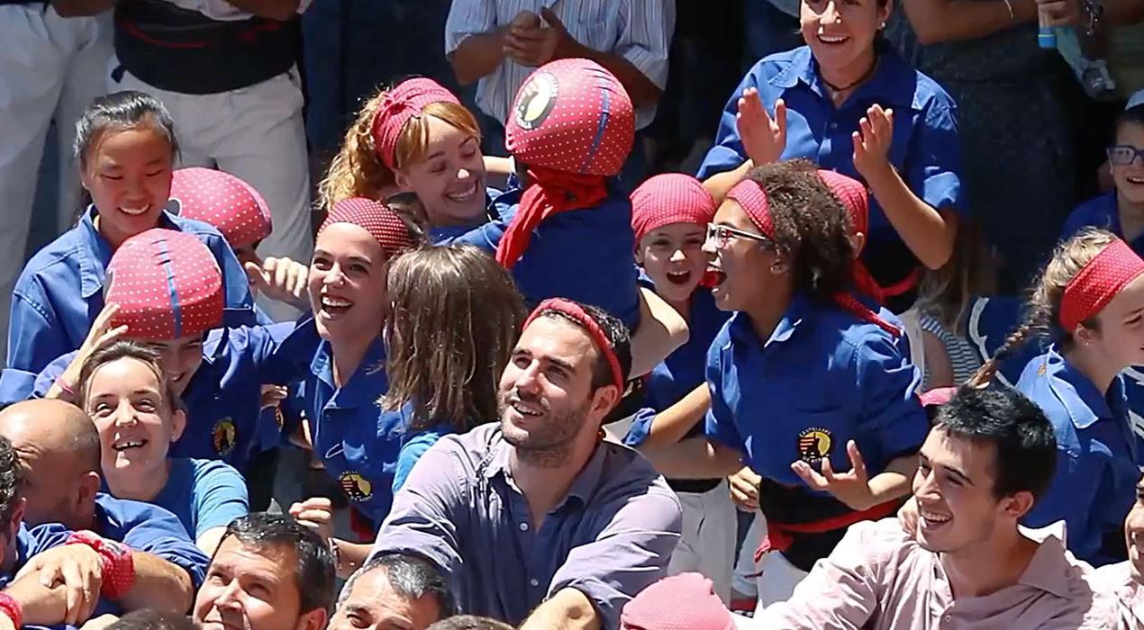 Cinc anys d'emocions, reptes i creixement dels Castellers de Berga