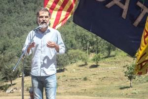"""Jordi Cuixart, a l'aplec del Pi: """"Catalunya no ha rebut més que amenaces en els darrers vint anys"""""""