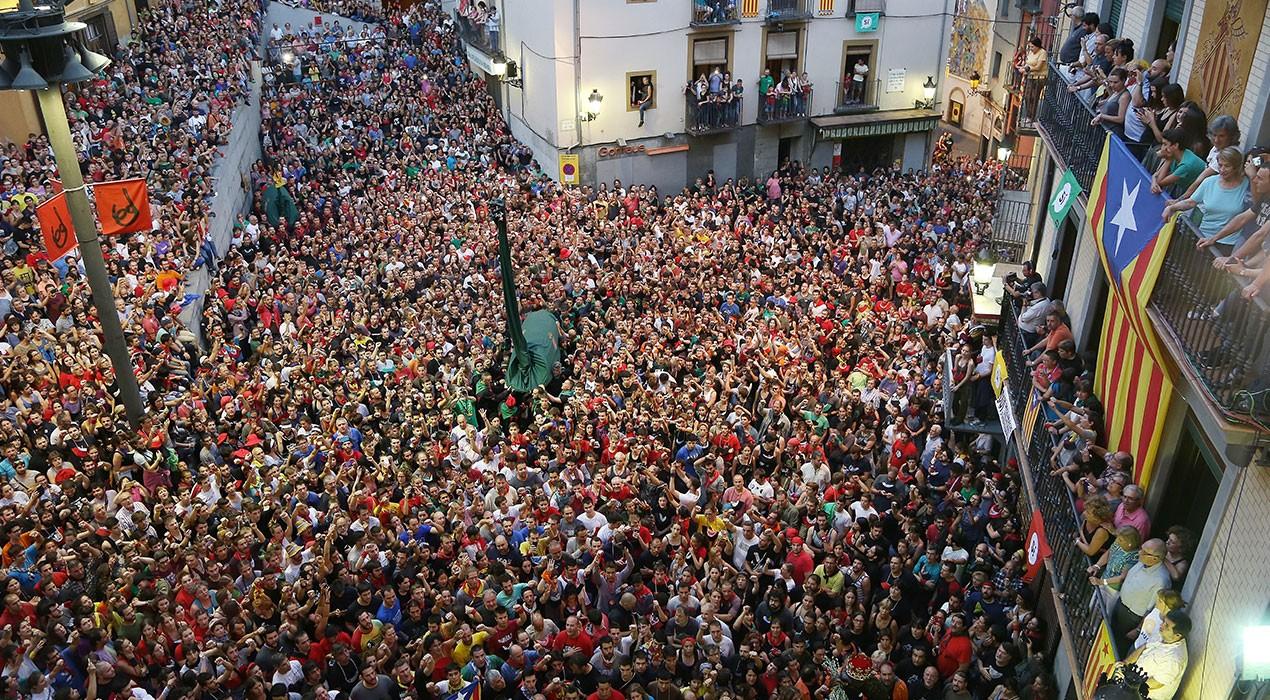 El Patronat aparca la Patum de la República Catalana