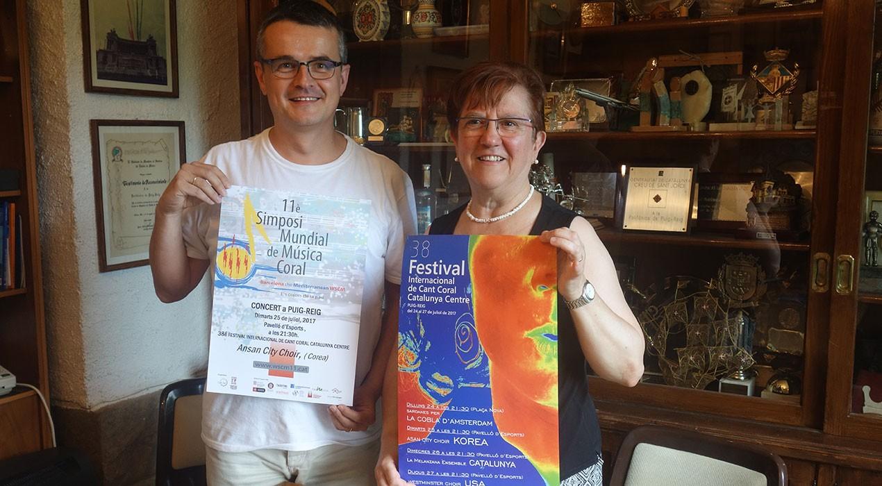 El Festival de Cant Coral de Puig-reig canvia de dates per aplegar dos cors de referència mundial