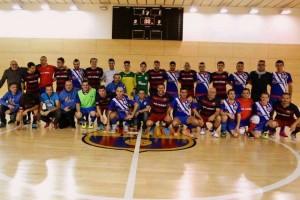 Els veterans del Barça de futbol sala disputaran un partit benèfic a Casserres