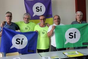 Crida de l'ANC del Berguedà per acudir a la manifestació de l'11S a Barcelona