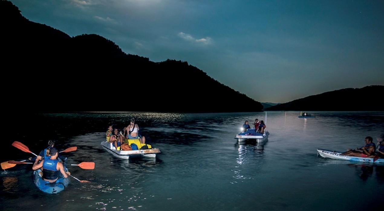 Es permetrà la navegació nocturna a la Baells per gaudir de les llàgrimes de Sant Llorenç