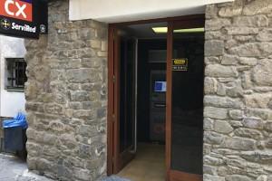 Borredà recupera el caixer automàtic tres setmanes després