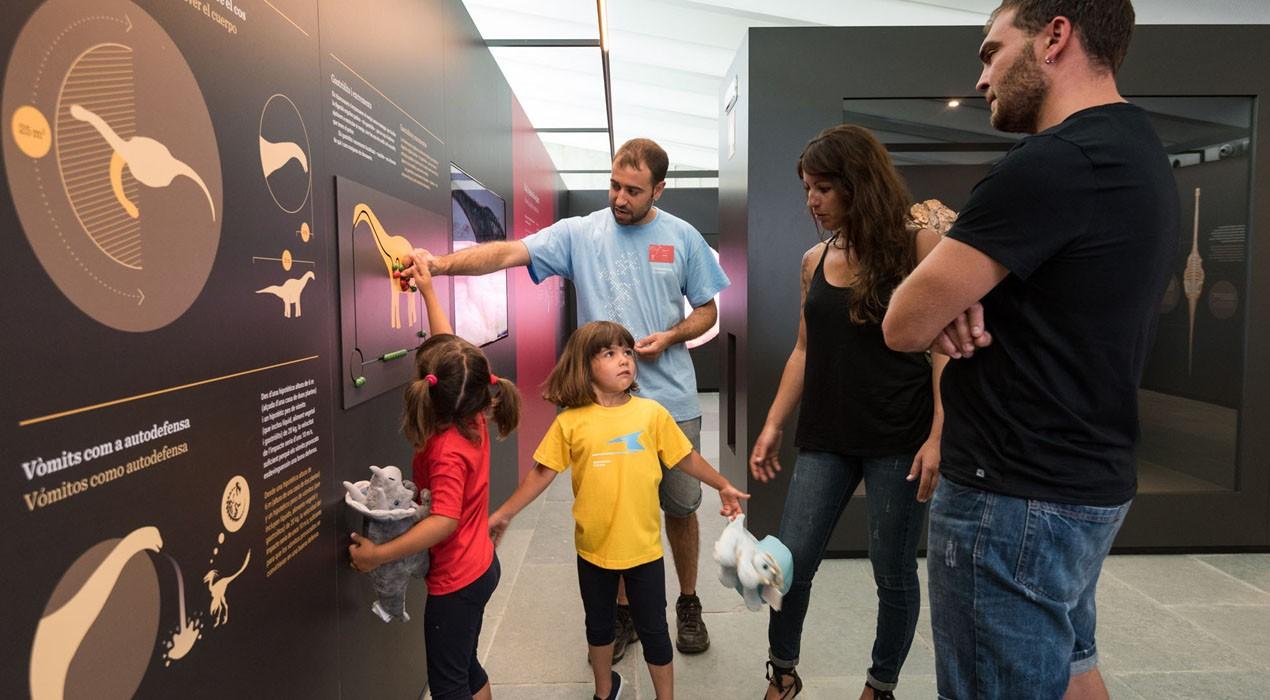 El Centre de Dinosaures de Fumanya ha rebut ja més de 1.500 visites