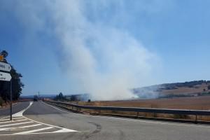 Apagat l'incendi que ha cremat aquest migdia entre Puig-reig i Casserres