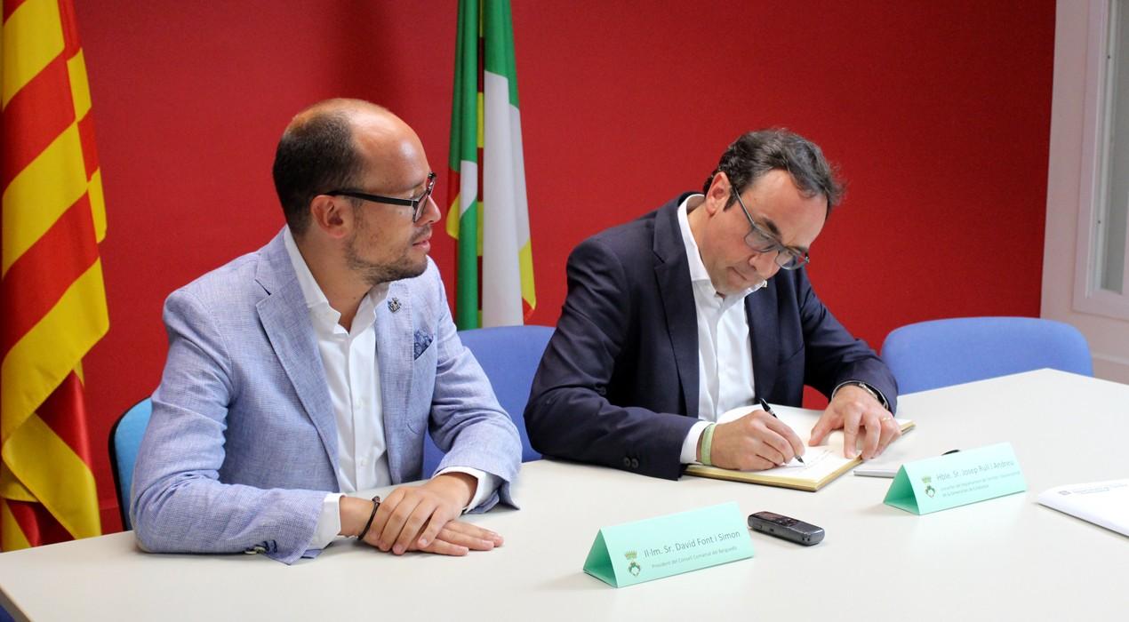 Implementaran el servei de transport a la demanda al Baix Berguedà