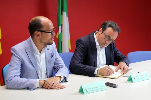 Josep Rull David Font Consell