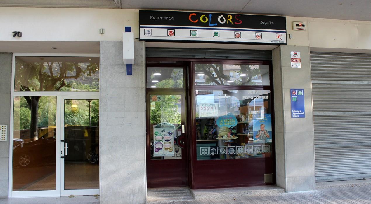 Venut a Berga un primer premi de la Loteria Nacional