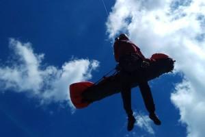 Rescaten a un noi de 15 anys a la tartera del Pedraforca