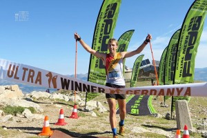 Gerard Españó, dels Mountain Runners, puja al podi de la VerticAlp Sky Race