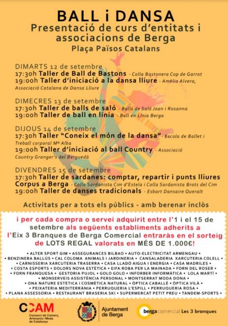 Taller d'iniciació al ball Country @ Plaça dels Països Catalans (BERGA)