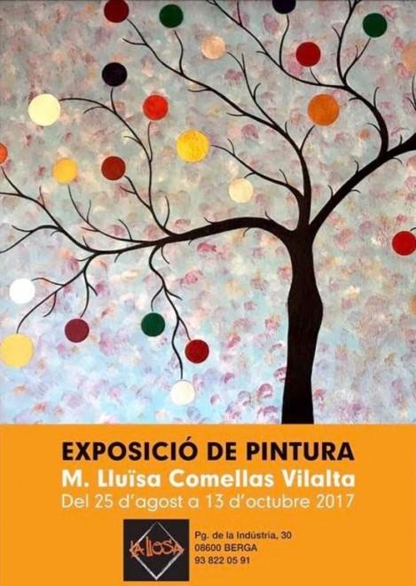 """Exposició """"L'Alegria dels colors"""" @ Restaurant La Llosa (BERGA)"""
