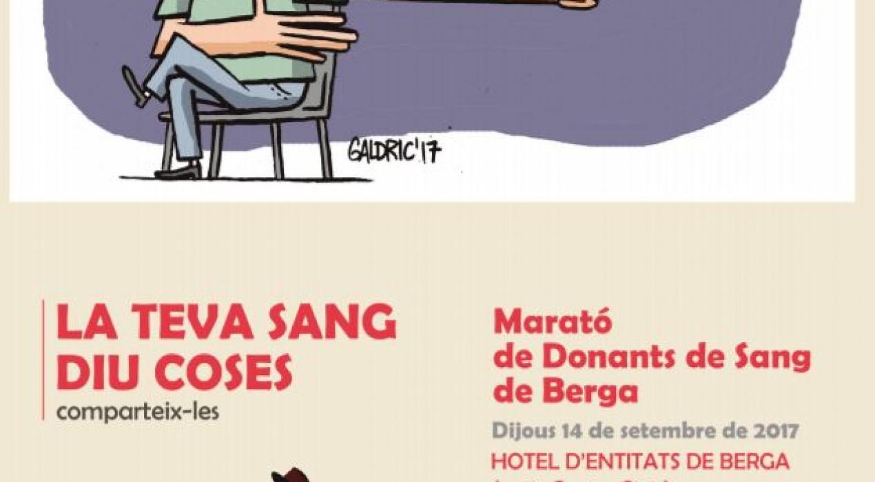 Marató de donació de sang a BERGA
