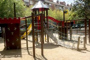 """L'Ajuntament de Berga """"renta la cara"""" a la majoria de parcs mentre decideix com actua en els més degradats"""