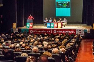 La campanya Berguedà pel Sí desborda sales i reforça el convenciment de la comarca d'anar a votar l'1-O