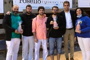 Els Castellers de Berga homenatgen Xavi Serra, membre de la colla que va morir sobtadament fa un mes