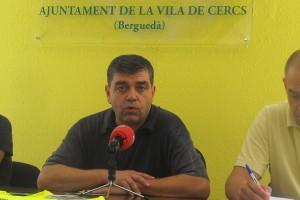 El ple de Cercs condemnarà l'operació contra el Govern, mentre ERC es concentra davant l'Ajuntament