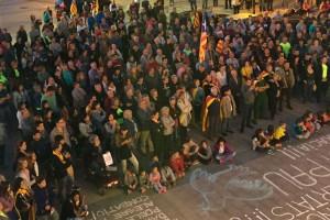El Berguedà surt al carrer en contra de l'operació contra el Govern de la Generalitat