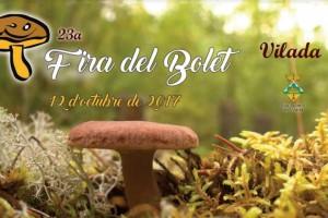 Vilada celebra la Fira del Bolet