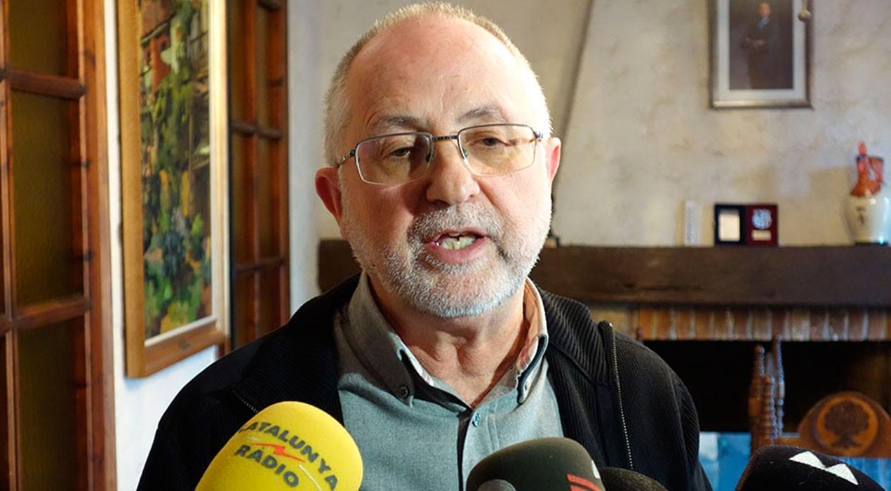 Borredà es remet a les ordres del TC i no cedirà els espais que facilitarien el vot pel referèndum
