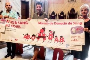 Berga fa una crida a la població per superar els 300 donants de sang en la marató del proper dia 14