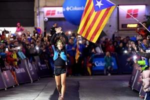 Núria Picas suma un nou repte guanyant l'Ultra Trail del Mont Blanc