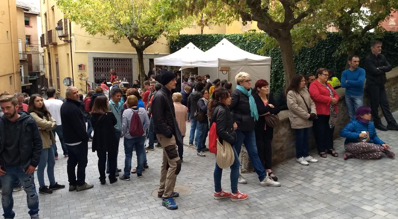 El Berguedà vota sense problemes en un referèndum tranquil i sense traves policials