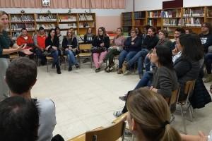 """Alba Castellví obre el curs a l'Escola de Mares i Pares amb una xerrada sobre educar """"sense cridar"""""""